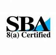 SBA 8(a) certification badge at Information Protection Solutions